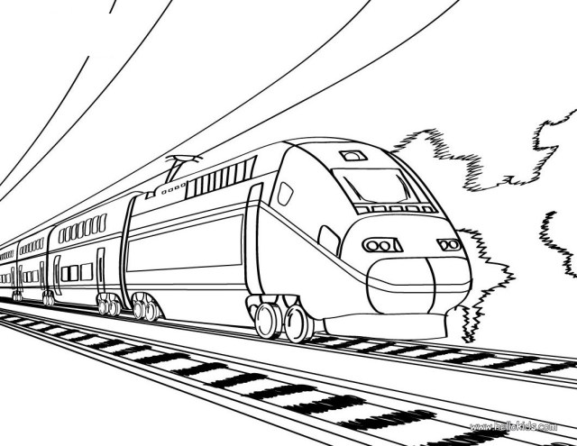 Train Coloring Page Free Printable Train Coloring Pages For Kids