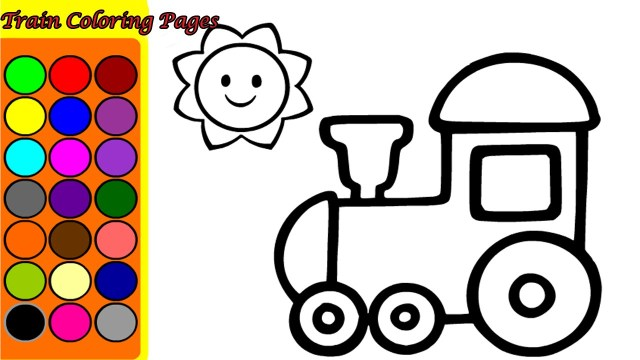 Train Coloring Page Train Coloring Pages Game Coloring Games Song Nursery Rhymes