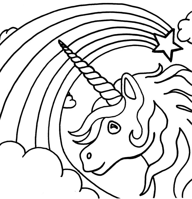 Unicorn Coloring Pages For Adults Adult Coloring Pages Unicorn At Getdrawings Free For Personal