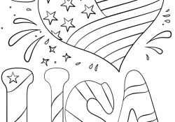 Usa Coloring Pages I Love Usa Coloring Page Free Printable Coloring Pages