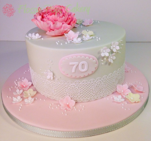 Vintage Birthday Cakes Pin Bertha Acosta On Bollitos Pinterest 70th Birthday Cake