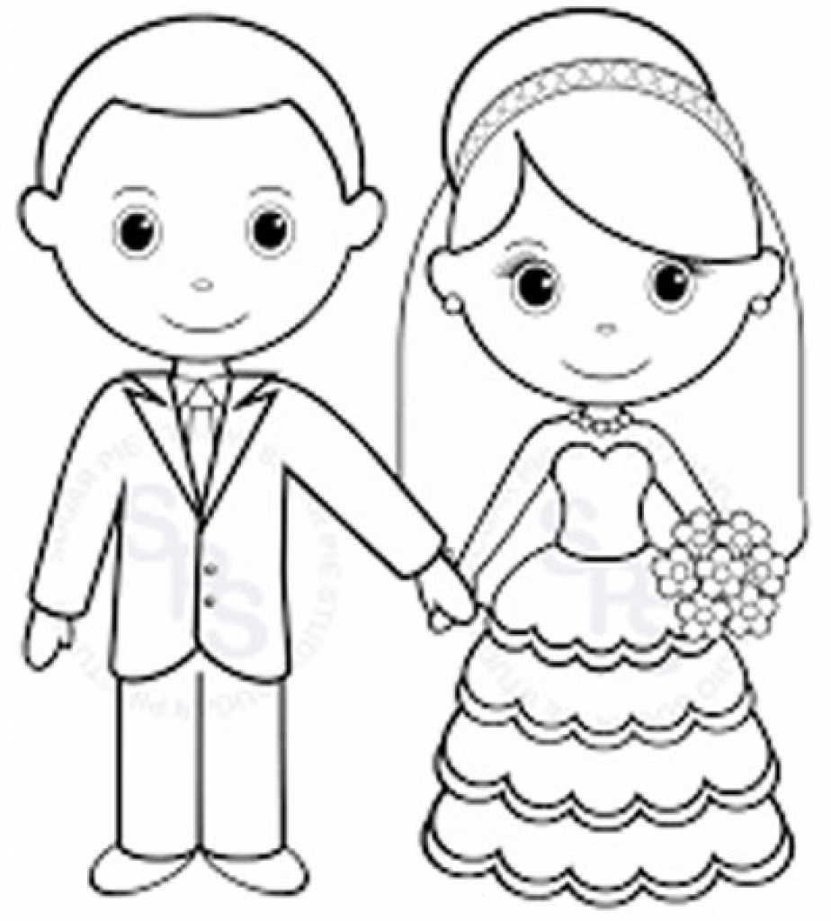 Wedding Coloring Pages Coloring Pages Coloring Pages Free For Kids ...