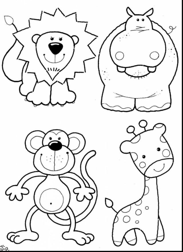 Zoo Animals Coloring Pages Coloring Pages Zoo Animals Coloring Pages Through The Thousand