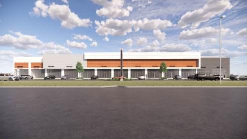 Entity Developments Gateway Blvd Center Renders Building 2