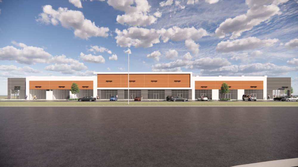 Entity Developments Gateway Blvd Center Renders Building 4