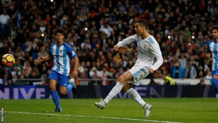 La Liga : Cristiano Ronaldo scored a hat-trick as Real Madrid thrashed Real Sociedad 5-2
