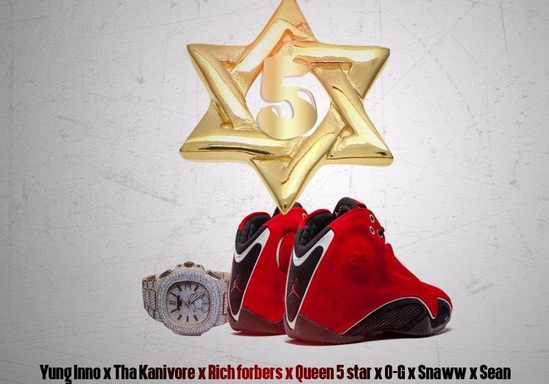 VIDEO : Sean- 5 Star ft tha Kanivore, Yung Inne, Rich Forbers, Queen 5 Star, O-G, Snaww