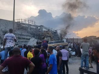 Workers trapped as 7-storey building they are constructing collapses