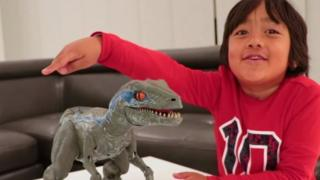 Meet 7years old boy making $22m on YouTube