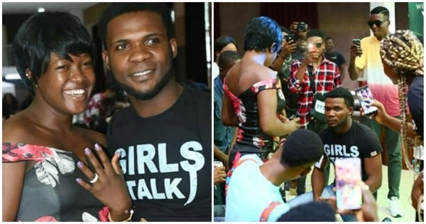 Man proposes to his girl during BBNaija 2019 audition
