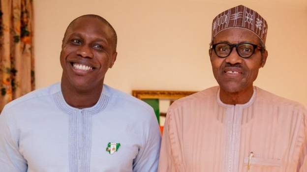 Obasanjo's son campaigns for Buhari