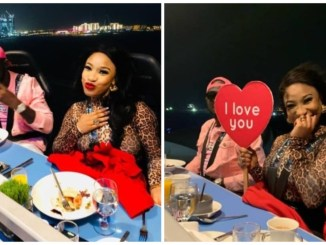 Tonto Dikeh and her new man having a good time in Dubai