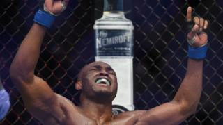 Nigerian fighter becomes First African to win MMA title
