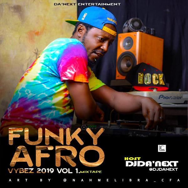 Djda'next - Funky Afro Vybez 2019 Vol 1.