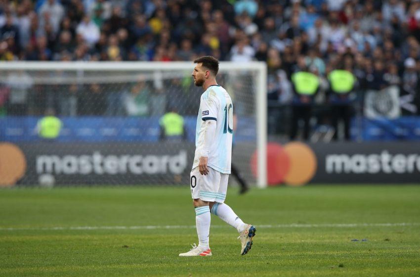 Brazilian star slams Lionel Messi