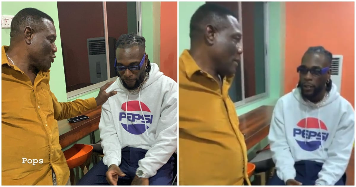 Singer Burna Boy and his dad Samuel Ogulu spotted in rare photos