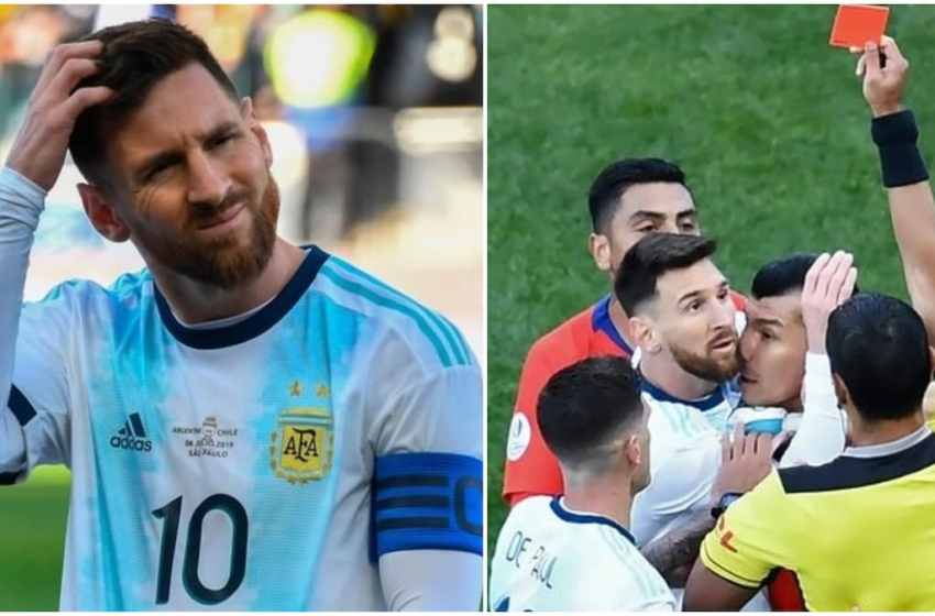 Lionel Messi handed suspension and massive fine for his actions at Copa America 2019