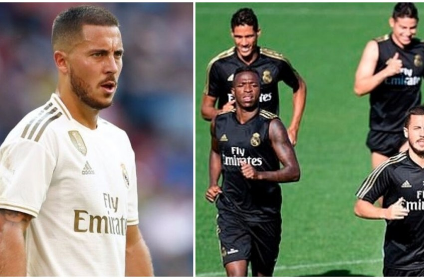 Hazard suffers injury in Real Madrid training, to be out of pitch for long