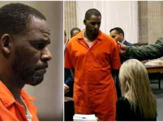 R Kelly looking old as he appear in court from prison over s*x-crimes