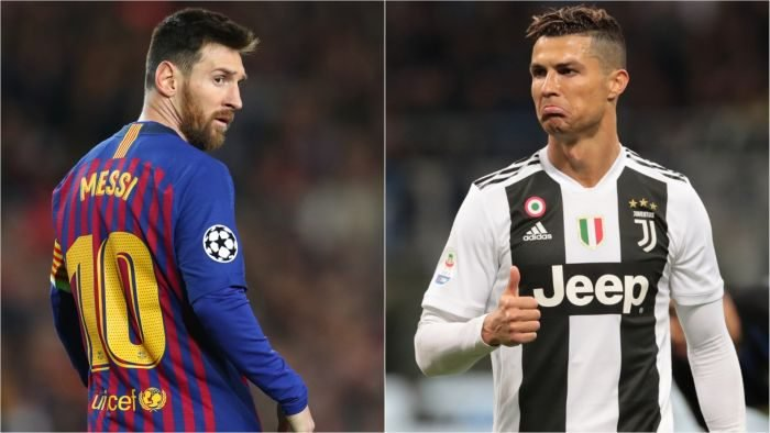 Ronaldo names Messi best footballer of all time over himself