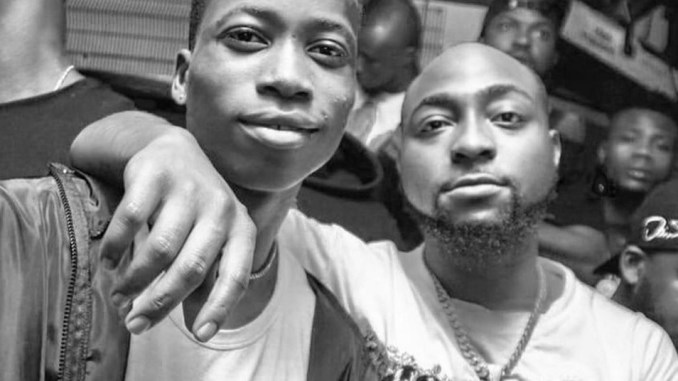 Davido Signs Lil Frosh into DMW Record Label