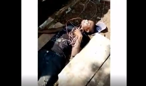 Man Electrocuted to death while stealing church property [VIDEO]