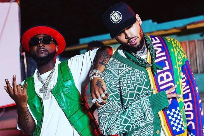 DOWNLOAD : Chris Brown ft Davido – Lower Body [MP3]