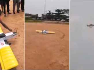 WOW : Futo student build flying airplane for his project (video)