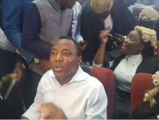 DSS rearrests Sowore - chases Judge from court with Gun [VIDEO]