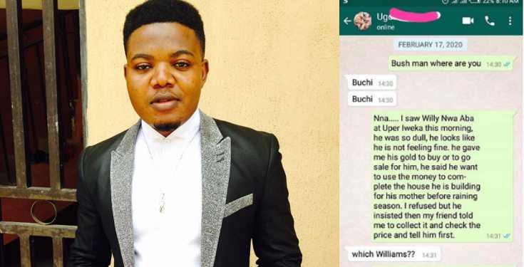 Man narrates how he ran into a friend who he never knew had died