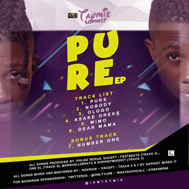 FULL EP : Taymie Sophist - Pure
