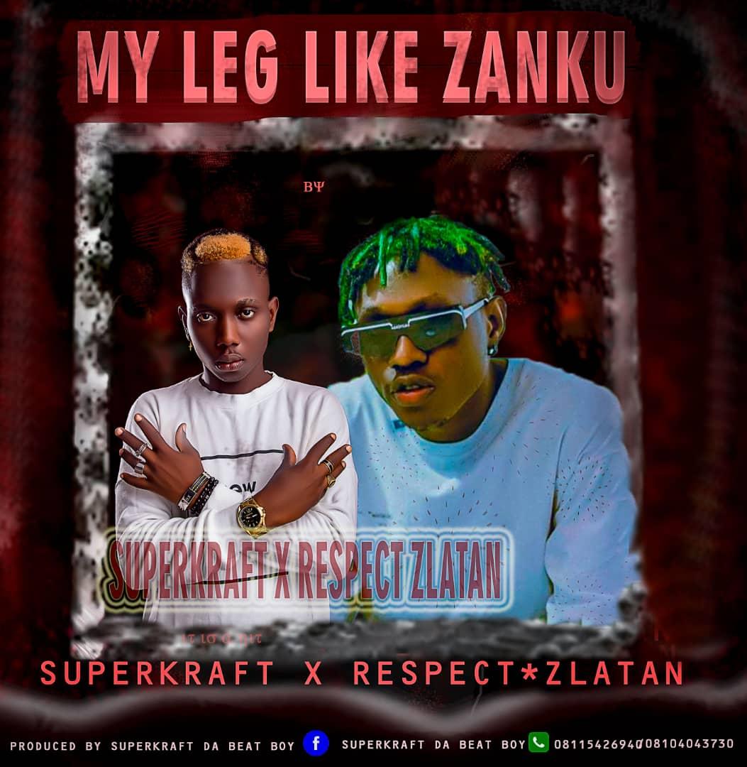AUDIO : Superkraft X Respect Zlatan – My Leg Like Zanku