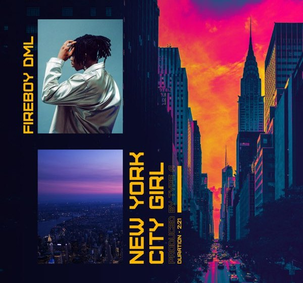 Instrumental : Fireboy DML – New York City Girl
