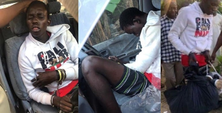 Thief Arrested After Falling Asleep During Robbery Operation (See Photos)