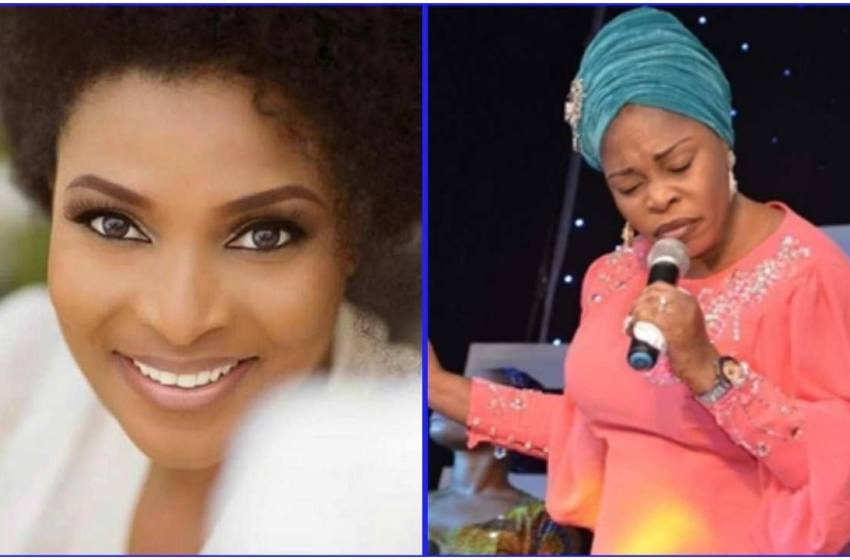 """""""It came while taking my bath…"""" Tope Alabi on composing Ibidun Ighodalo's tribute song (Video)"""