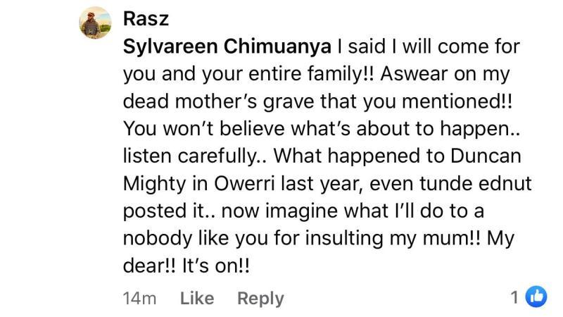 Rasz Sylvareen Chimuanya