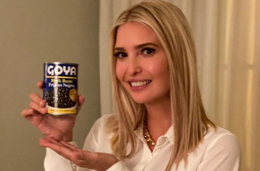 Ivanka Trump backs Goya – Endorse black beans violating ethics rule
