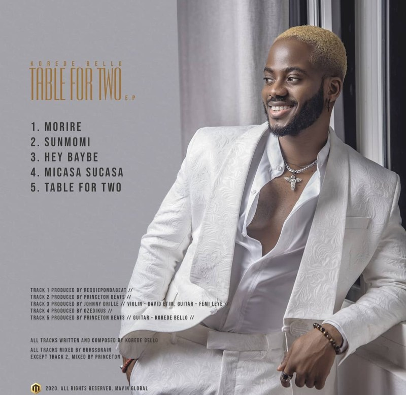 Korede Bello - Table For Two [FULL EP]