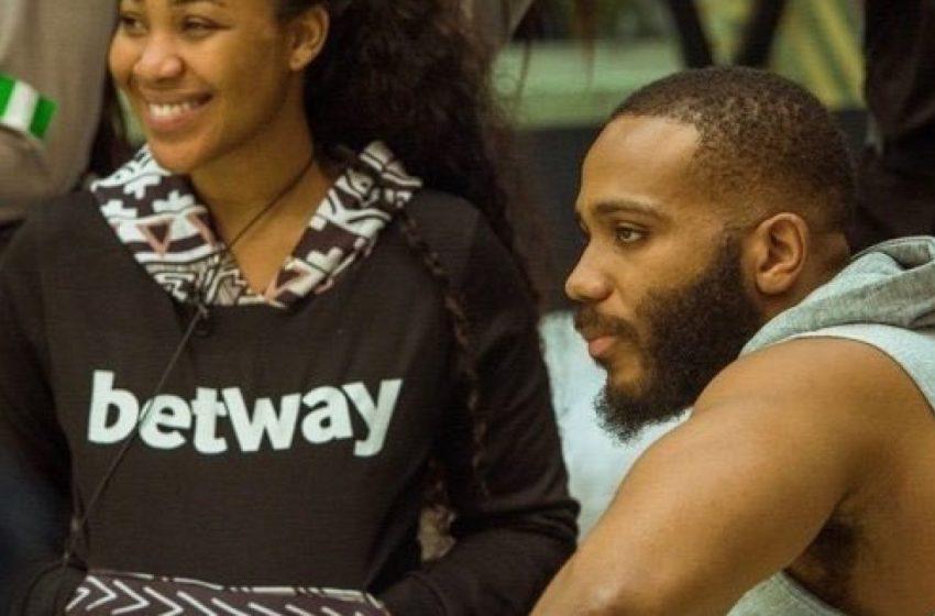 BB Naija Loving me is risky - Kiddwaya tells Erica