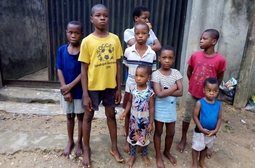 Police arrest 5 child traffickers – rescue eight stolen children