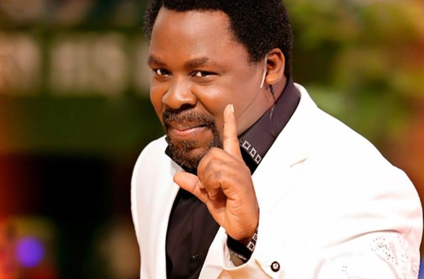 Prophet TB Joshua begs FG to release all Coronavirus patients to him