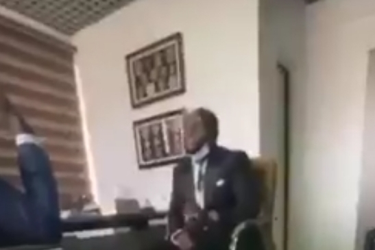 "#SarsMustGo : ""I didn't protest"" – Davido says in a meeting with IGP [VIDEO]"