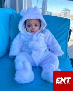 Ex-BBNaija Star Nina Ivy Shares Adorable Photos Of Her Son.
