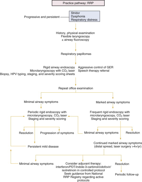 respiratory papillomatosis in humans