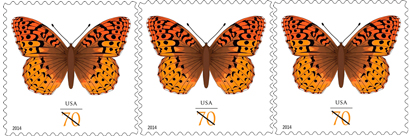 Usps Issues Butterfly Postage Stamp
