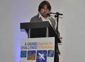 Dr. Carlos F. Campelo de A. e Melo, National Coordinator on Dengue, OPAS/OMS.