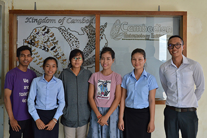 Fostering a New Generation of Cambodian Entomologists