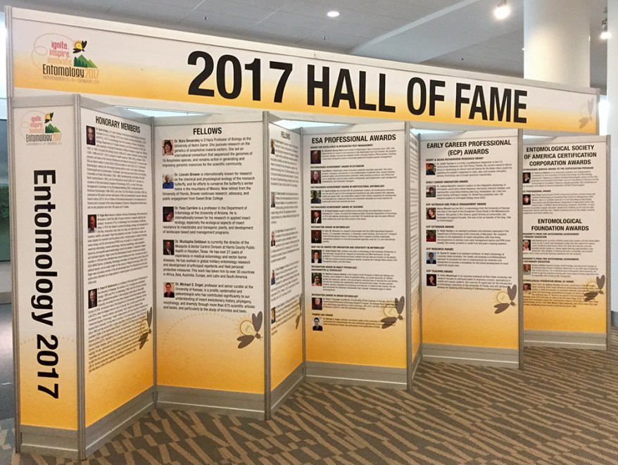 EntSoc17 Awards Display