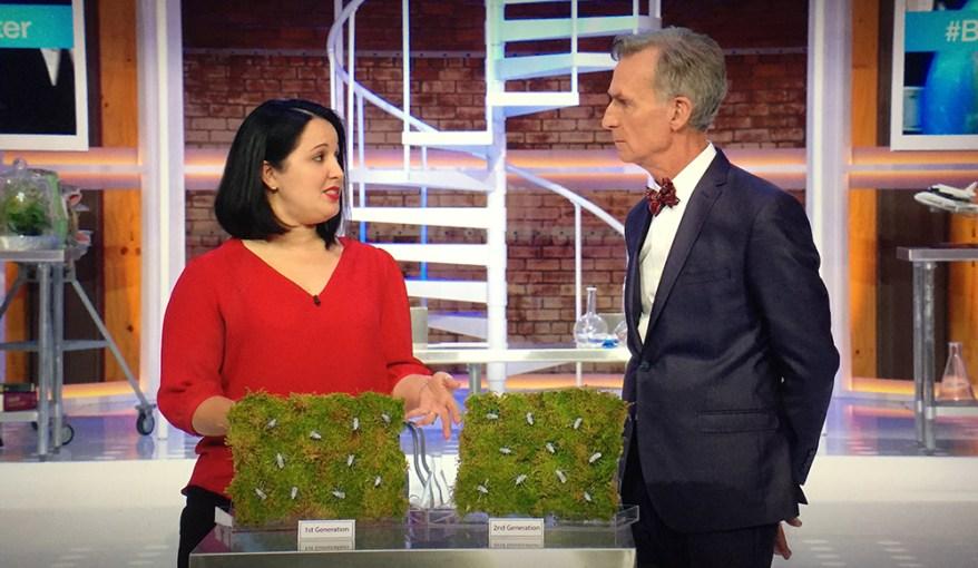 Natasha Agramonte on Bill Nye Saves the World