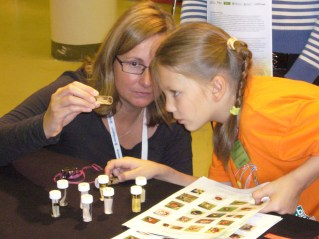 Helen Roy at science festival